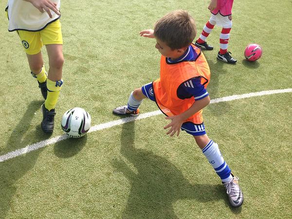 Kids football parties UK