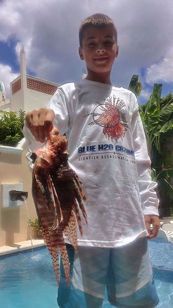 Cozumel Lion Fish Hunt. Special Lion FishT Shirt