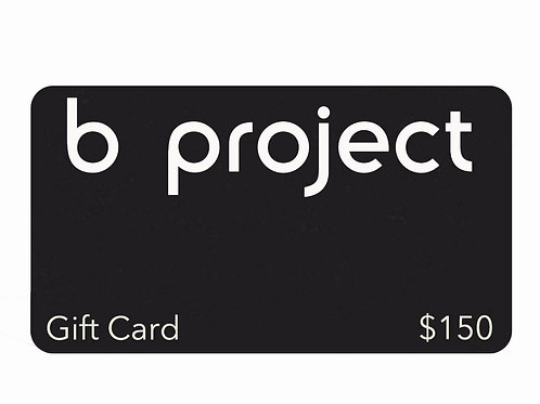 b project Gift Card