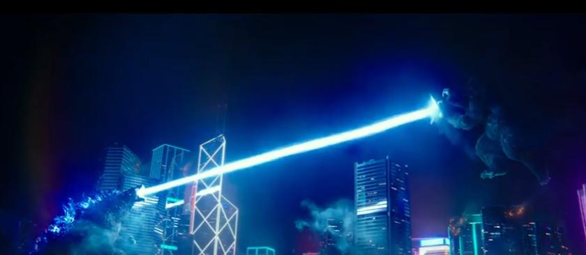 Godzilla blast Kong