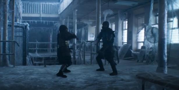 Mortal Kombat Sub-Zero vs Scorpion