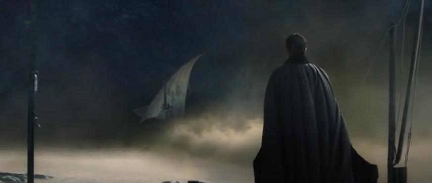 Shadow and Bone - General Kirigan watch ship