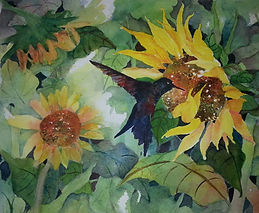 Sunflower and hummingbird.jpg