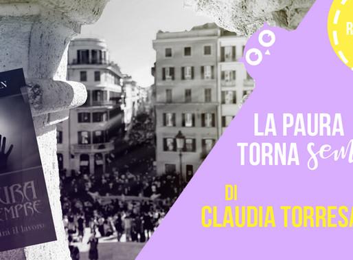 """""""La paura torna sempre"""" di Claudia Torresan - Recensione"""