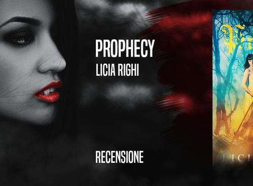 """""""Prophecy"""" di Licia Righi - Recensione e intervista"""
