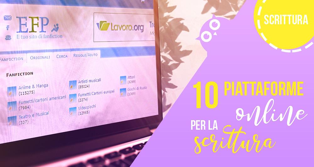 10 piattaforme online per la scrittura