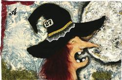 A princesa que veio da lua 0, tecnica mista s papel, 28x42, 2007