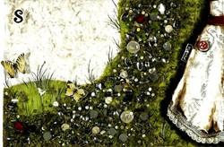 A princesa que veio da lua 12, tecnica mista s papel, 28x42 cm-filtered