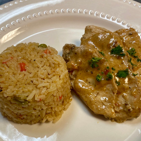 Cajun Chicken & Rice Pilaf