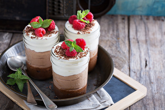 Chocolate Mousse Dessert Jar