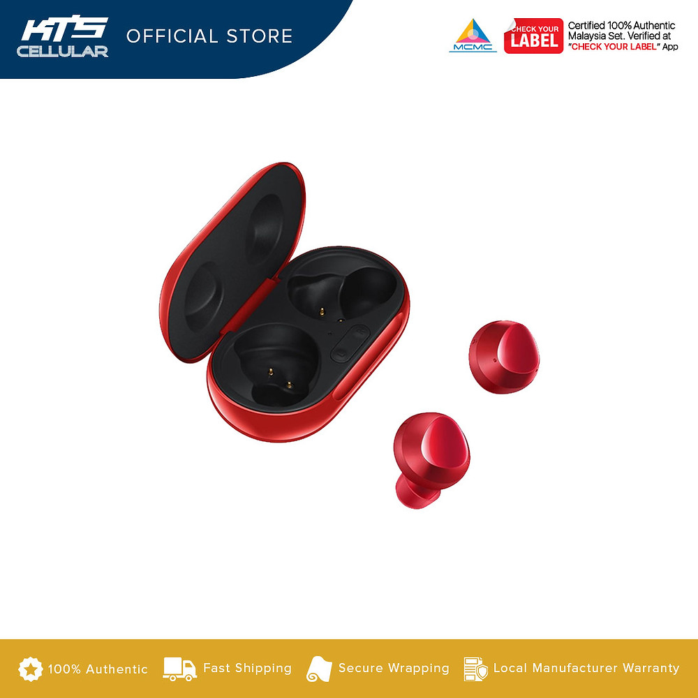 Buds Plus, now in red. Get it at KTS online stores