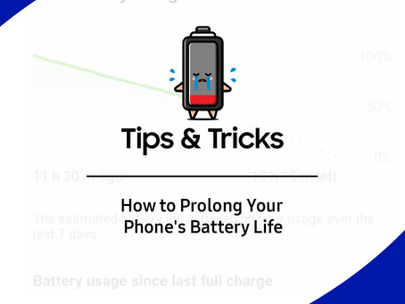 Extend the battery life on your phone