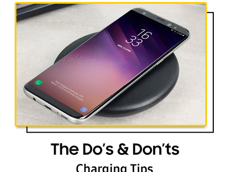 DO's and DONT's when charging