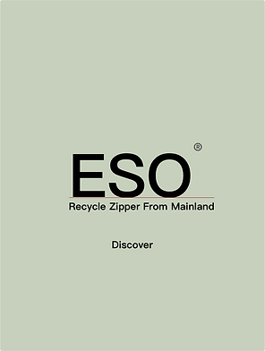 Recycled ESO zipper swatches