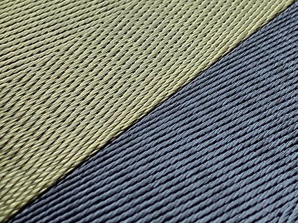 Recycled webbing swatches