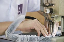 handbag factory sewing long straps