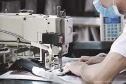 handbag factory sewing machines.