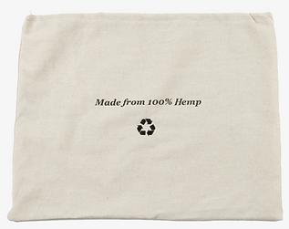 Nature hemp dust bag