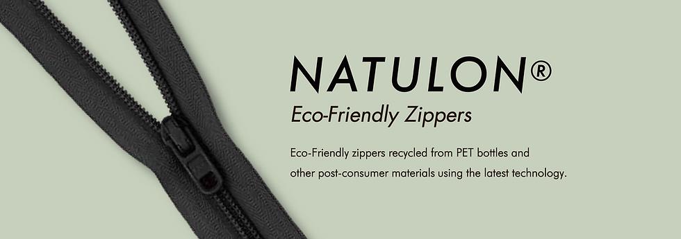 Recycled zipper swathces