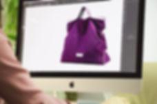 drawing new handbag design