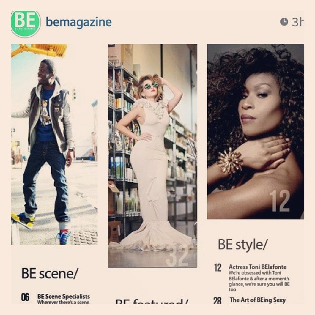 Look who it is being featured as an actress in _bemagazine !!!! Thank you Jason