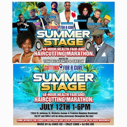 Next Saturday July 12, come out to a _Summer Stage in Harlem!!! Co-Hosted and curated by #me for my