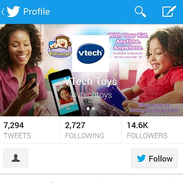 Did you see me in my latest commercial for #Innotab!_ Just saw this on their Twitter page _-) _-) _-