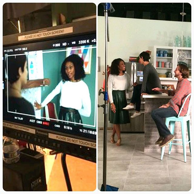 It's #official my latest #commercial is for #TheHomeDepot #Spring and #Tiles #campaign and it's #Air