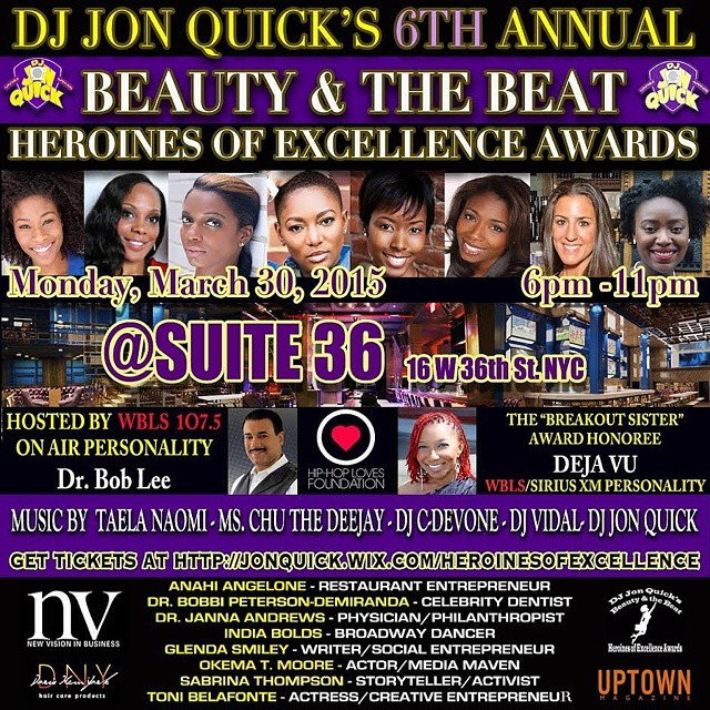 6th Annual Heroine of Excellence