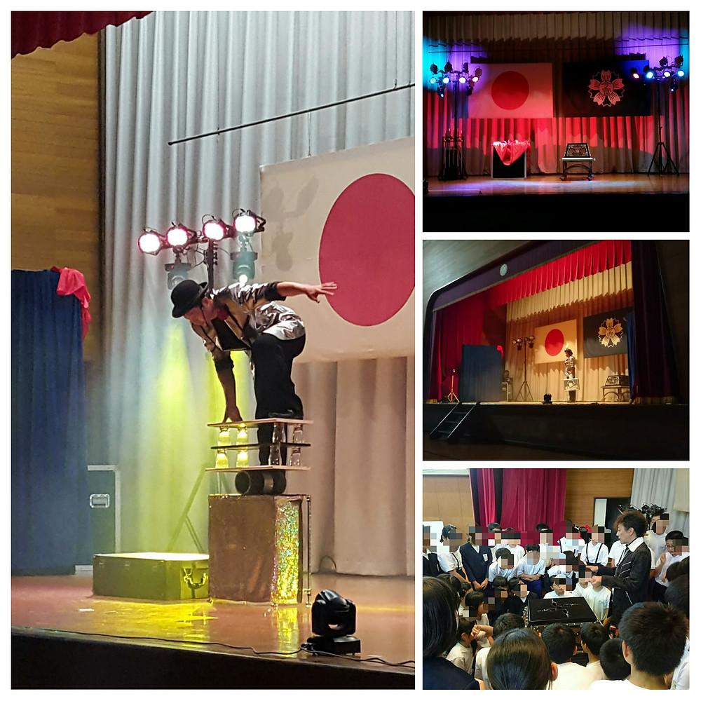 学校公演の様子