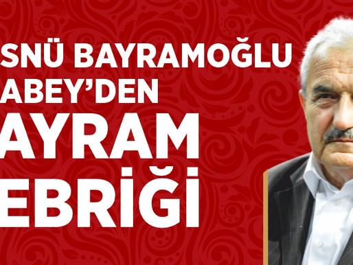 Hüsnü Bayramoğlu Ağabey'den Ayasofya Mesajı ve Bayram Tebriği!