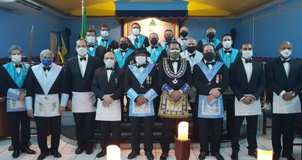 ARGBLS GERALDO LIMA nº 24 realiza Sessão Magna de Elevação.