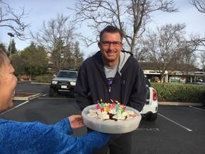 Rich birthday cupcakes