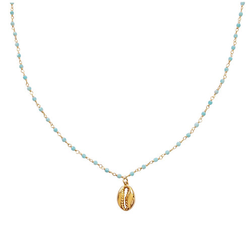 Amazonita shell gold