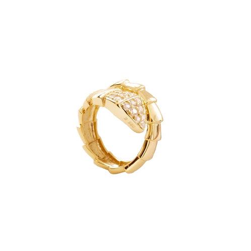 Zirconia snake gold