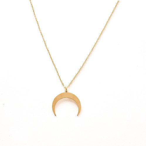 Moon shape gold