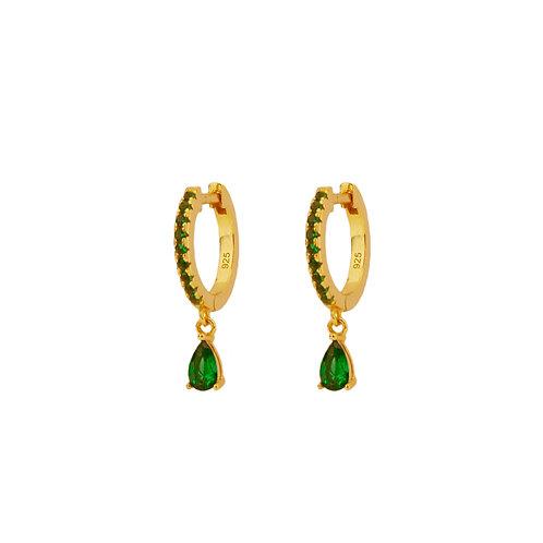 Green zirconia tear hoop gold