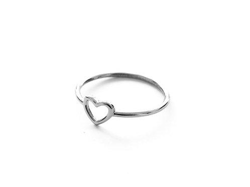 Small heart silver