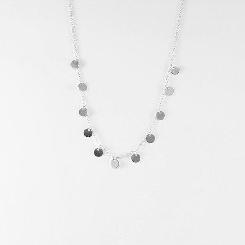 Twelve circles silver