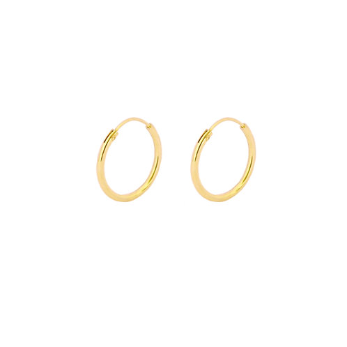 16 mm hoop gold