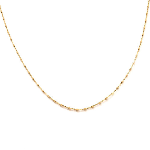 Diamond chain gold