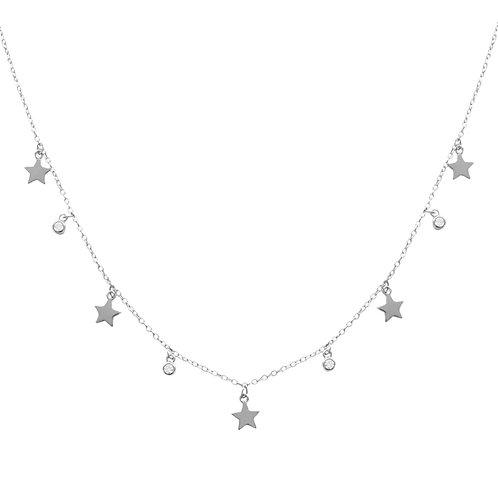 Zirconias & stars silver