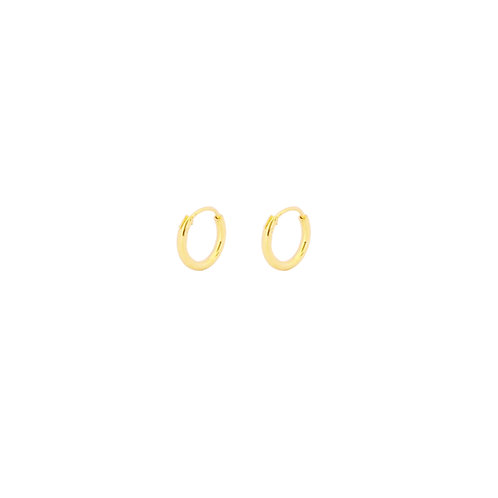 8 mm hoop gold