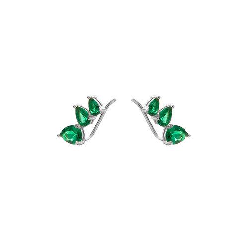 Green zirconia climber silver