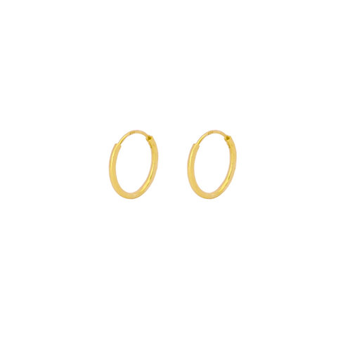 14 mm hoop gold