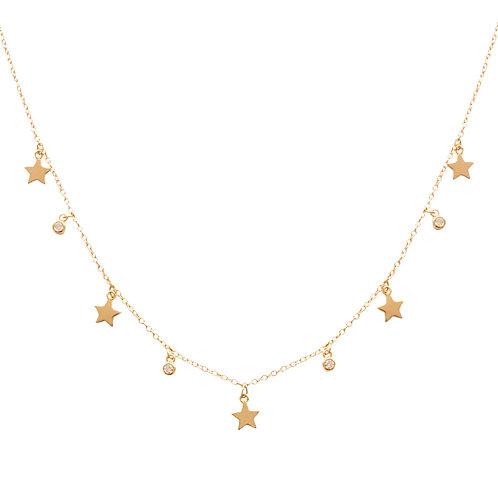 Stars & zirconia gold