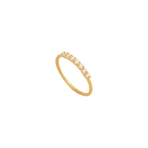 Line zirconia gold