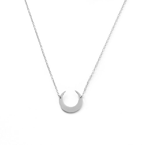 Moon inverted silver