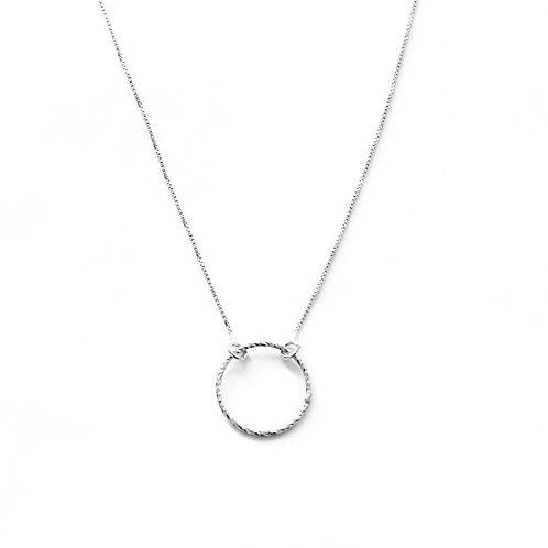 Diamond Ring silver