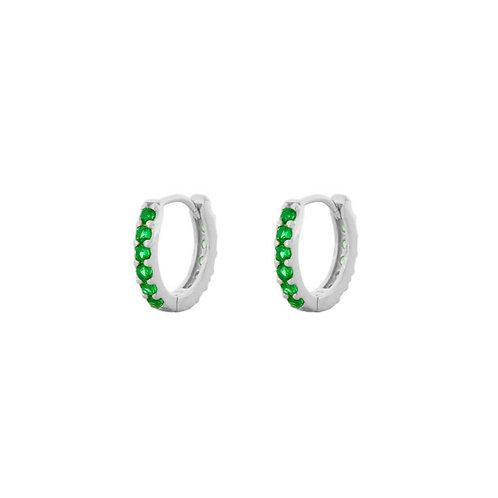 Green zirconia hoop silver